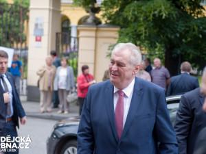 Prezident Miloš Zeman navštíví druhý červnový týden Jihočeský kraj