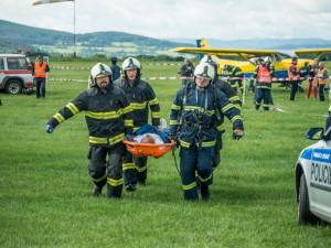 VIDEO: Ve Strakonicích se zřítilo letadlo. Naštěstí jen na oko