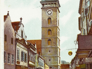 DRBNA HISTORIČKA: Ulice U Černé věže a její proměny
