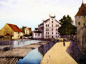 DRBNA HISTORIČKA: U Předního mlýna