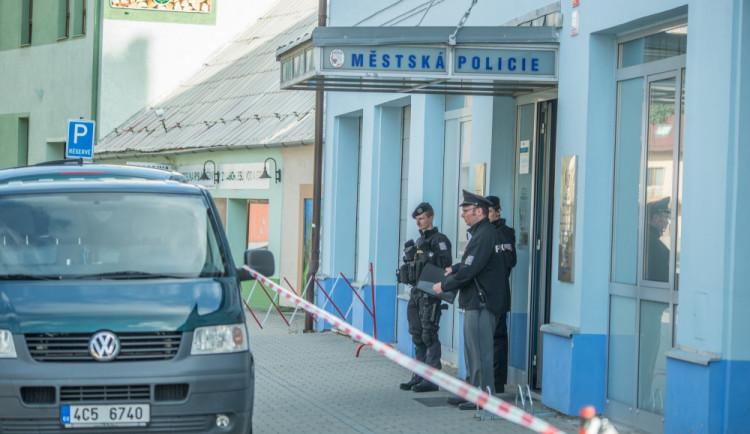AKTUALIZOVÁNO: Na služebně městské policie spáchal ve čtvrtek ráno sebevraždu senior