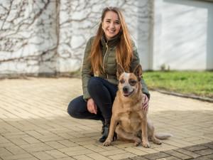 Záchranářem může být i voříšek, říká světová šampionka z jihu Čech