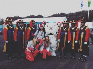 Studentka z Dobré Vody u Českých Budějovic dělá českým olympionikům v Koreji tlumočnici