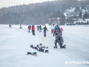 Ledová magistrála na lipenské přehradě ukončila provoz. Kvůli oteplení už dráha není bezpečná
