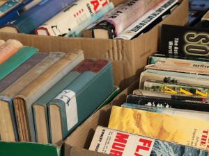 Velký knižní bleší trh měl opět úspěch. Výtěžek bude využit na nákup knih pro děti