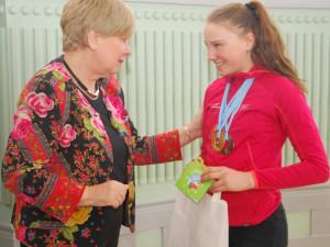 Mladé olympioniky ocenila hejtmanka. Gratulovala ale i rodičům a trenérům