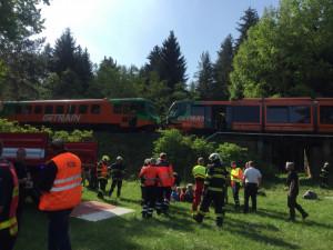 Nehodu vlaků u Mříče na Českokrumlovsku prý mohlo způsobit nedostatečné vybavení soupravy