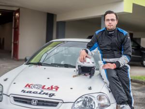 VIDEO: Automobilový jezdec je celoživotním učedníkem, tvrdí Petr Štěpánek zBudějc, který si za volantem soutěžního auta plní sny