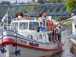 Vltavotýnský starosta odemkl řeku pro lodní dopravu