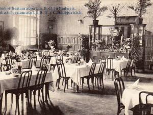 DRBNA HISTORIČKA: Nádražní restaurace