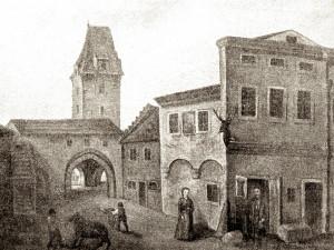DRBNA HISTORIČKA: Zboření gotické hradby a Rybářské věže si vydupali krupaři a mlynáři