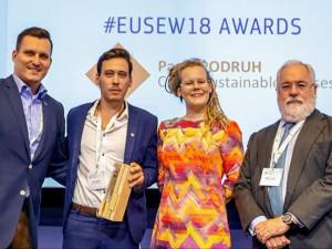 VIDEO: Nejvyšší ocenění Evropské komise poprvé putuje do České republiky. Díky Jihočechovi