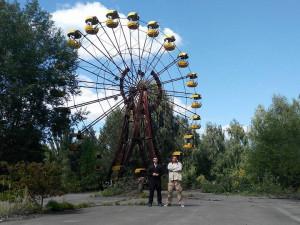 FOTO: Cesta do Černobylu byla únikem do světa, kde čas plyne mnohem pomaleji, říká Vojta Kloud