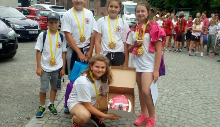 Školáci ze Zahájí na Českobudějovicku jsou nejlepšími mladými zdravotníky v republice