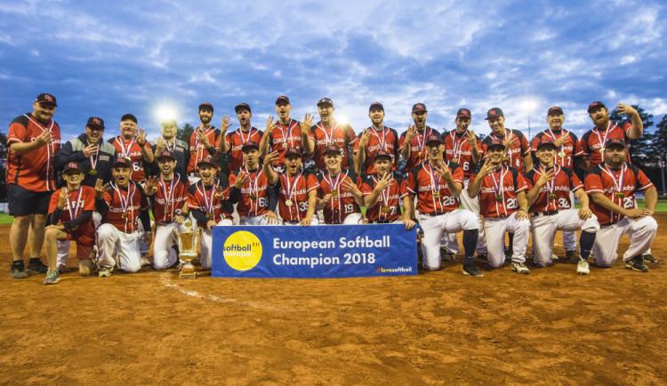 Čeští softbalisté vyhráli evropský šampionát. Týmu pomohli i Jihočeši