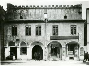 DRBNA HISTORIČKA: Ve Wortnerově domě byl výčep lihovin