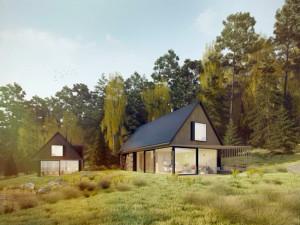 Energeticky soběstačné bydlení může být komfortní, tvrdí zakladatel Českého ostrovního domu