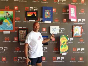 Lipno Sport Fest nabídne i dražbu obrazů od světových šampionů pro pusopisku z Budějc