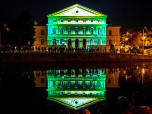 Audiovizuální festival Vltava žije rozzáří Budějce. A oslaví sto let republiky
