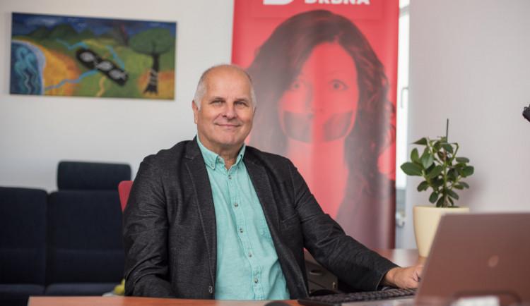 Jiří Šesták chce jihočeským podnikatelům otevřít dveře v zahraničí. Odpovídal ale i na další dotazy čtenářů Budějcké Drbny