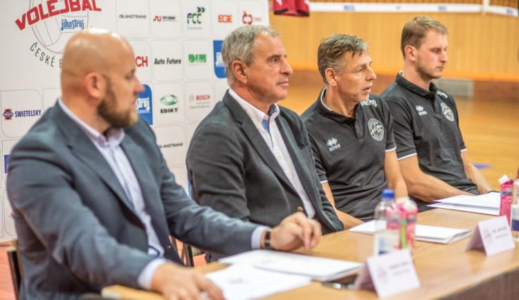 Nová sezona Jihostroje je bez evropských pohárů. Cílem je extraligový titul