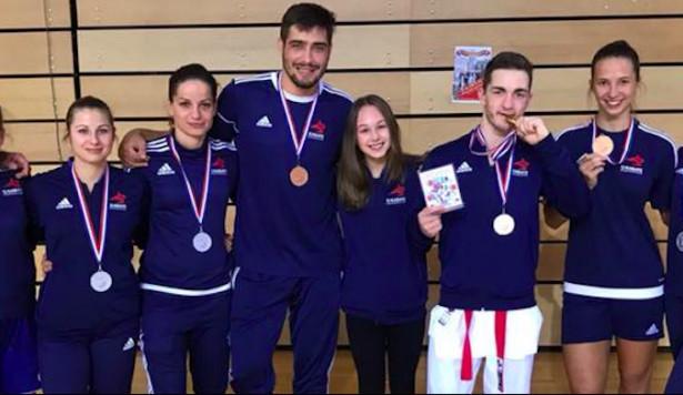 Budějčtí karatisté slaví obrovský úspěch. Z chorvatských závodů vezou zlato, stříbro i bronz