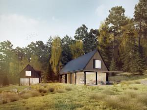 Projekt Český ostrovní dům, jehož autorem je Jihočech Pavel Podruh, slaví další úspěchy