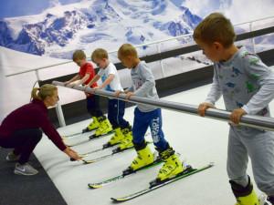 Mateřská škola Větrná už zahájila letošní lyžařskou sezónu