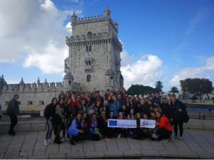 Studentky SUPŠ reprezentovaly Český Krumlov v Portugalsku