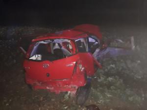 Řidič nepřežil autonehodu na Písecku, příčiny vyšetřuje policie