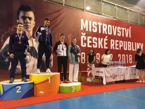 Mistrovství České republiky v karate dominovali Budějčáci