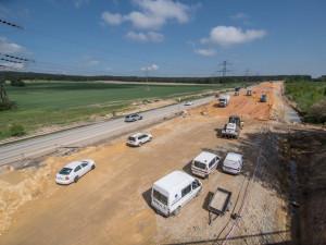 ŘSD zprovozní jeden úsek dálnice D3 u Ševětína. Nezaplacenému pozemku se provoz vyhne