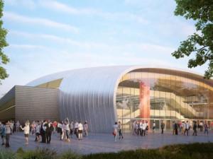 Nová sportovní hala v Budějcích by měla stát 668 milionů korun