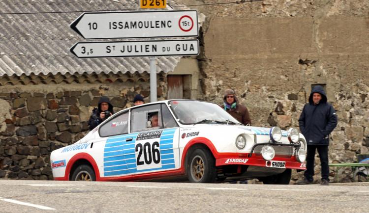Jihočeši odstartují do historické Rallye Monte-Carlo od řecké Akropole. Vyrazí ve Škodě 130 RS
