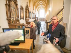 VIDEO: Vědci objevili v Budějcích ostatky zpovědníka Jindřicha Libraria