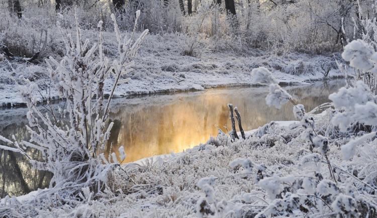 Na Šumavě padla historicky nejnižší teplota, rtuť teploměru tam klesla k mínus 33,3 stupňům