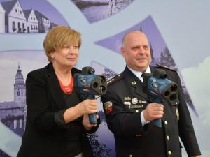 Kraj chce snížit počet dopravních nehod, policisté mají nové laserové rychloměry