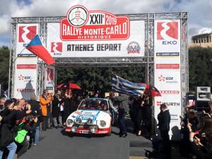 Legendární československý závoďák pokořil Rallye Monte-Carlo