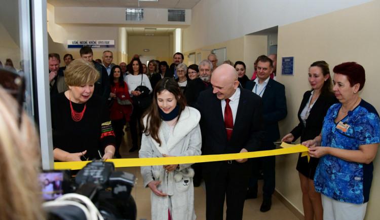 Táborská nemocnice má nové dětské oddělení. Je blíže operačním sálům