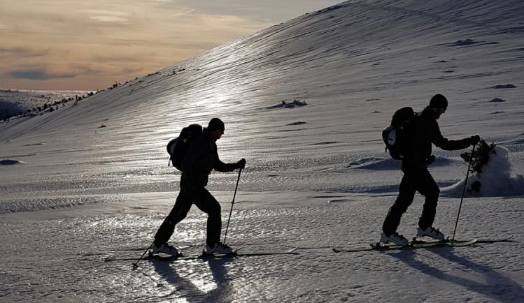 Strakoničtí vojáci trénovali pohyb v horském terénu i záchranu osob  z laviny