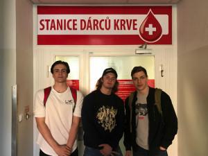 Studentské krvebraní přilákalo za tři hodiny čtrnáct  nových dárců