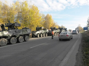 Nehoda pandurů s osobákem stála armádu devadesát pět milionů korun