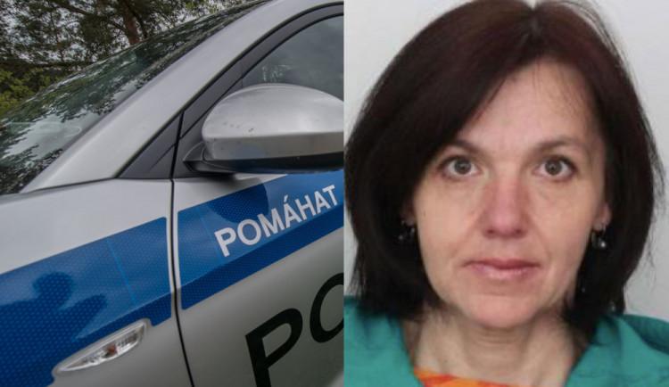 Policisté odvolali pátrání po pohřešované ženě z Tábora