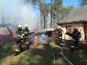 Počasí děsí hasiče. Riziko požárů je jedno z nejvyšších v Evropě
