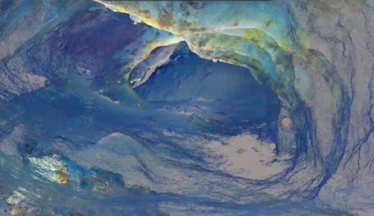VIDEO: Čeští vědci mají 3D model zatopené Chýnovské jeskyně