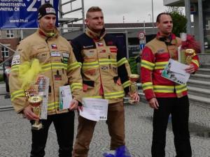 Jihočeští hasiči bodovali v Olomouci. Z poháru v TFA vezou zlato a bronz