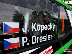 Rallye Český Krumlov má za sebou první soutěžní den. Vedení se ujal Kopecký s novou Fabií