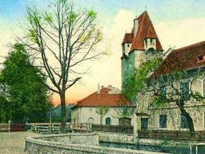 DRBNA HISTORIČKA: Rabenštejnská hradební věž byla místem pro těžké zločince