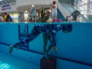 Budějce za sebou mají mistrovství republiky v nádechovém potápění. Padaly i rekordy