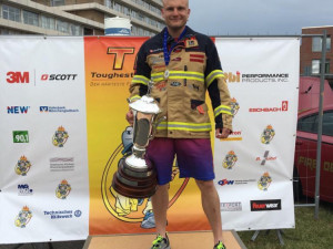 Michal Brousil obhájil evropské zlato v disciplínách TFA